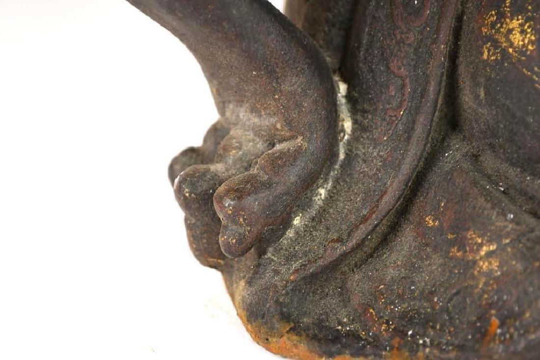 Chinese Bronze Guan Yin - 8