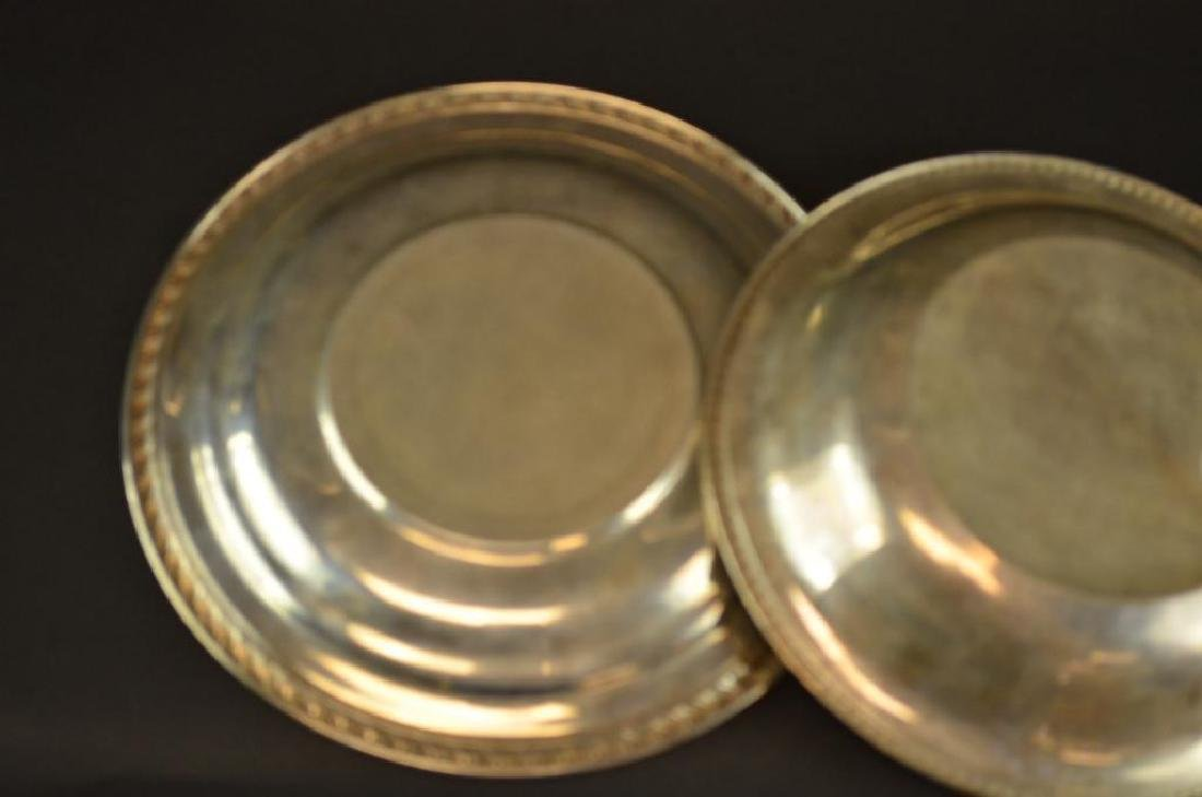 Two Sterling Silver Plates - 3
