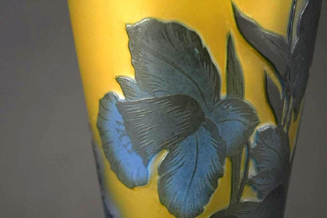 Cameo Glass  Vase - 5