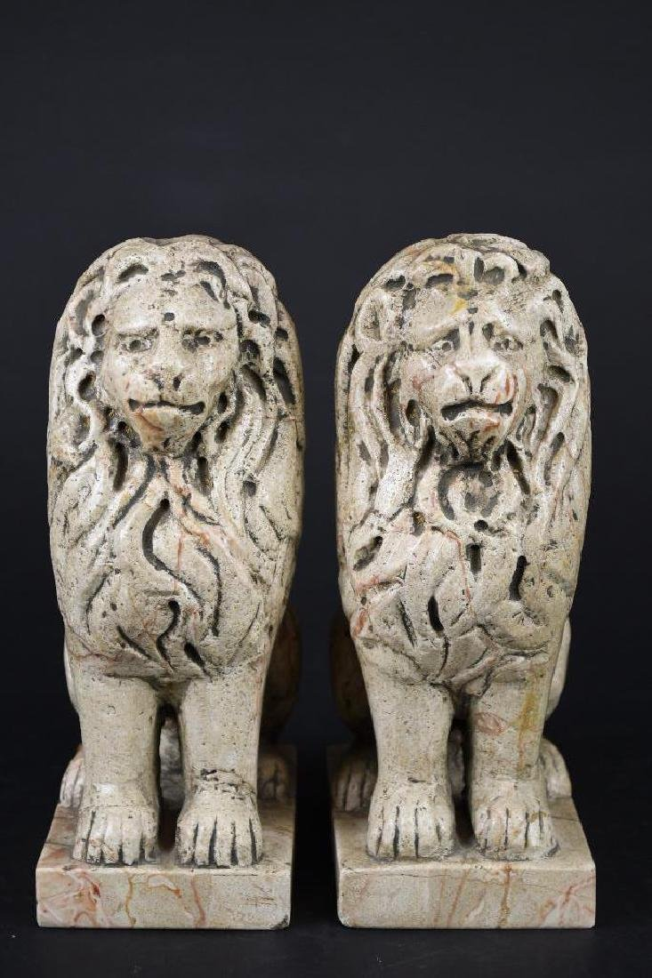 Pair of Chinese Foo Lions