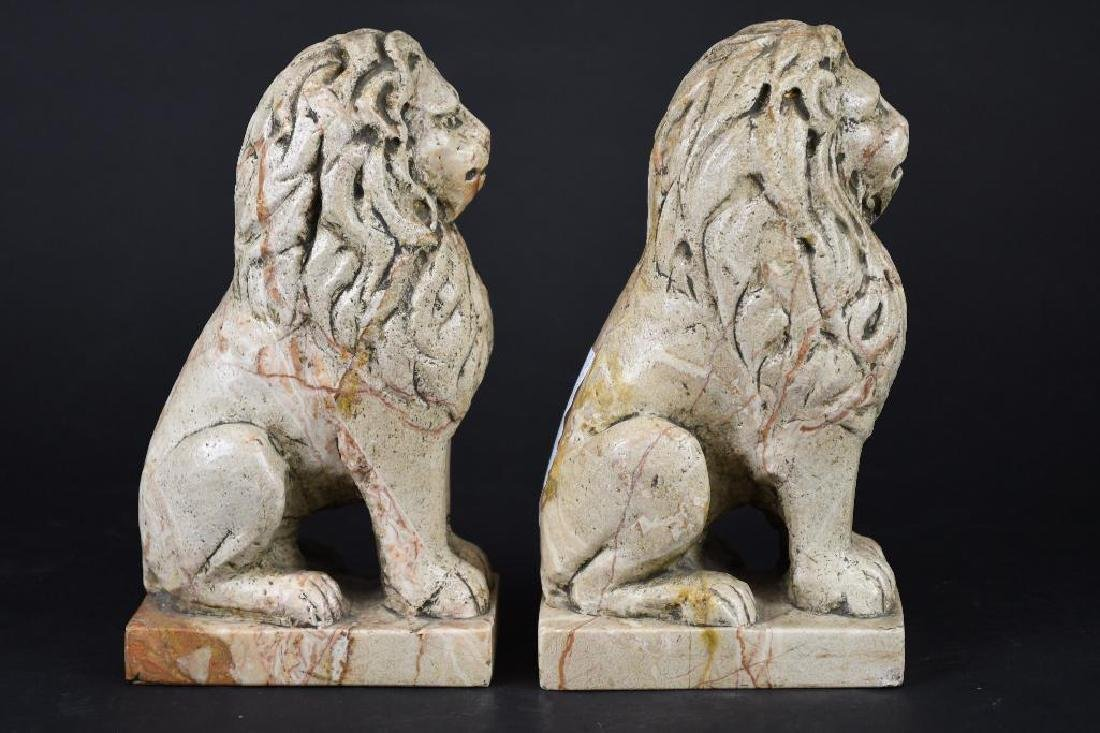Pair of Chinese Foo Lions - 2