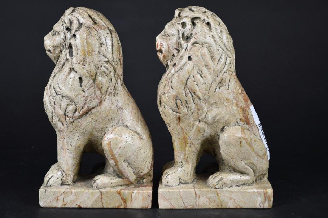 Pair of Chinese Foo Lions - 4