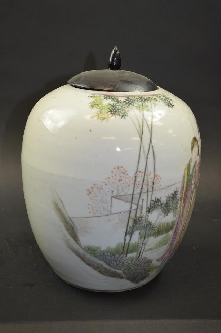 Chinese Porcelain Ginger Jar - 3