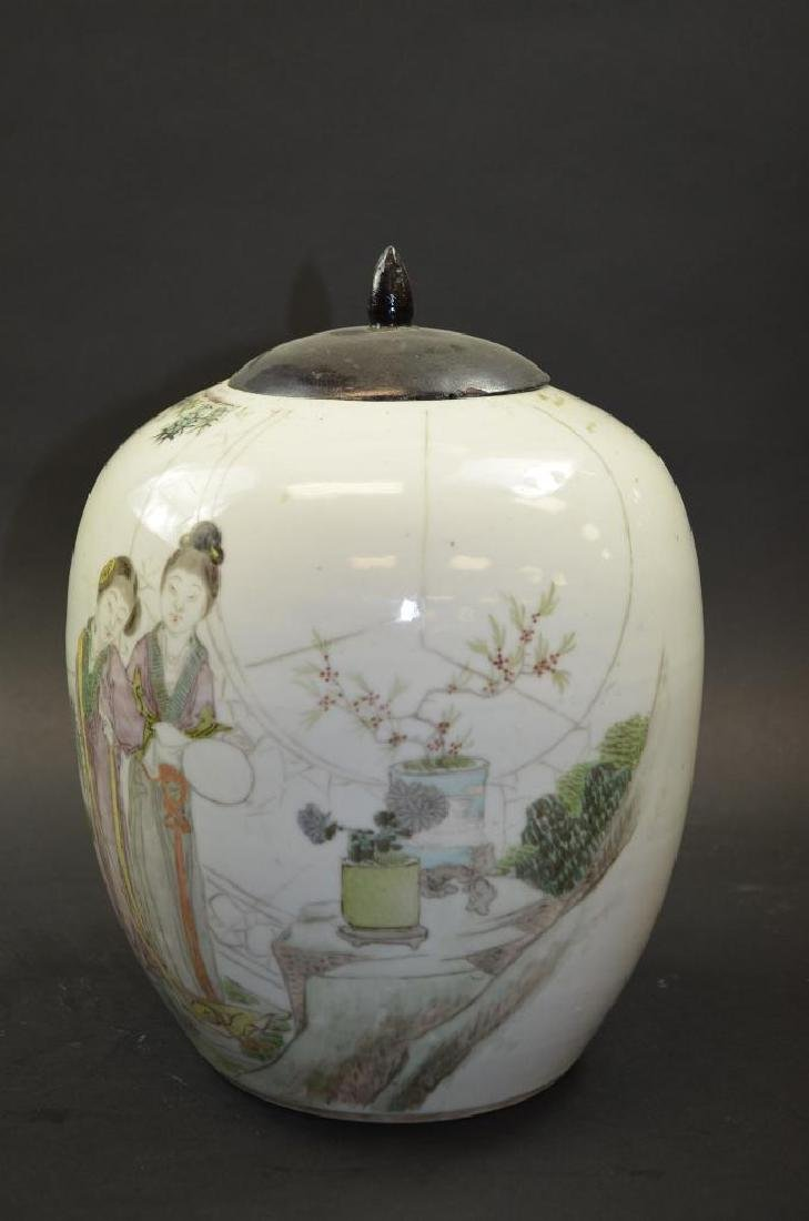 Chinese Porcelain Ginger Jar - 5