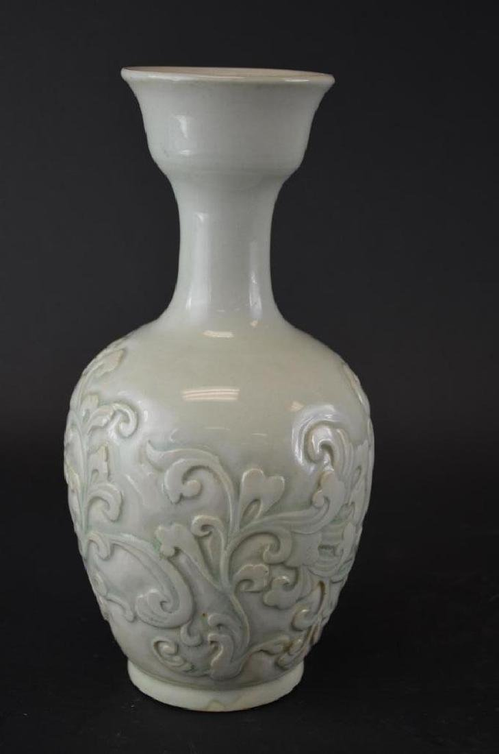 Antique Chinese  Celadon Glaze  Porcelain Vase - 3