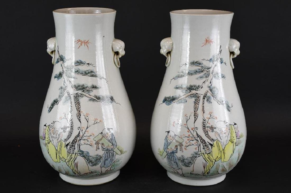 Two Chinese Porcelian Vases