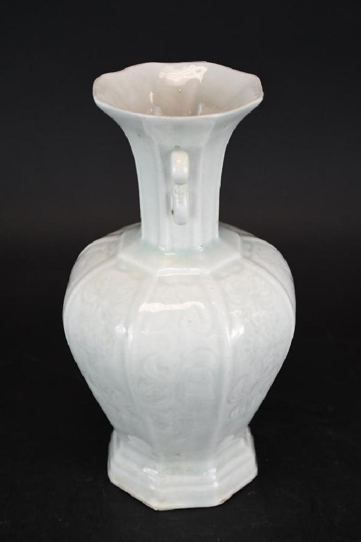 Chinese Hexagonal Shape Porcelain Vase - 2
