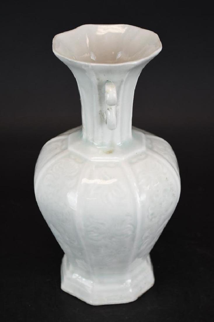 Chinese Hexagonal Shape Porcelain Vase - 4