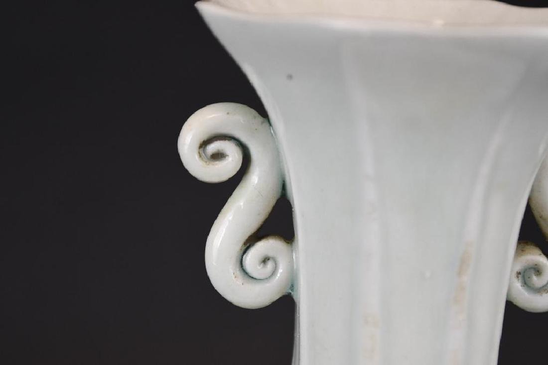 Chinese Hexagonal Shape Porcelain Vase - 6