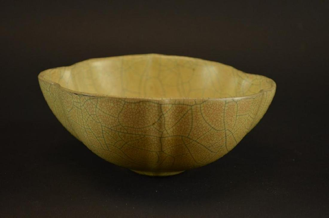Chinese Crackle Glaze Bowl - 3