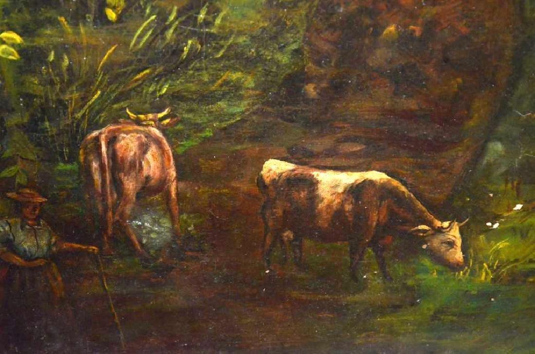 Framed Oil Painting - 2