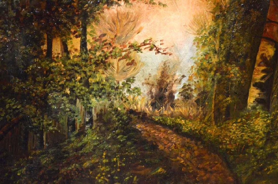 Framed Oil Painting - 3