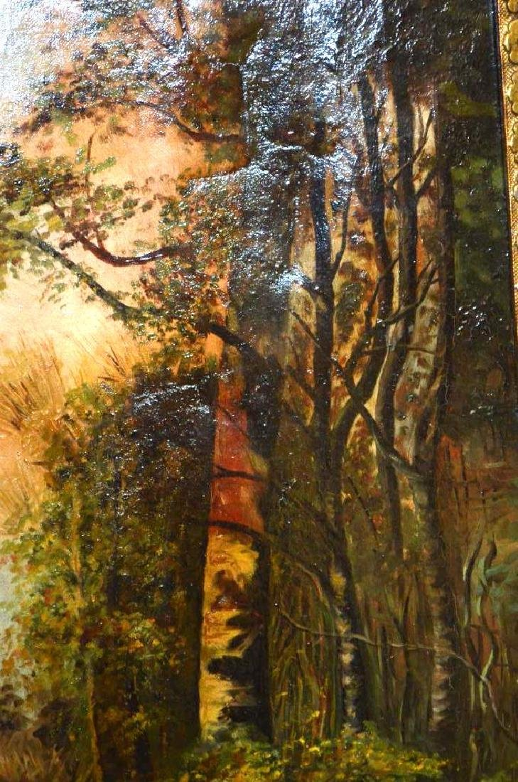 Framed Oil Painting - 4