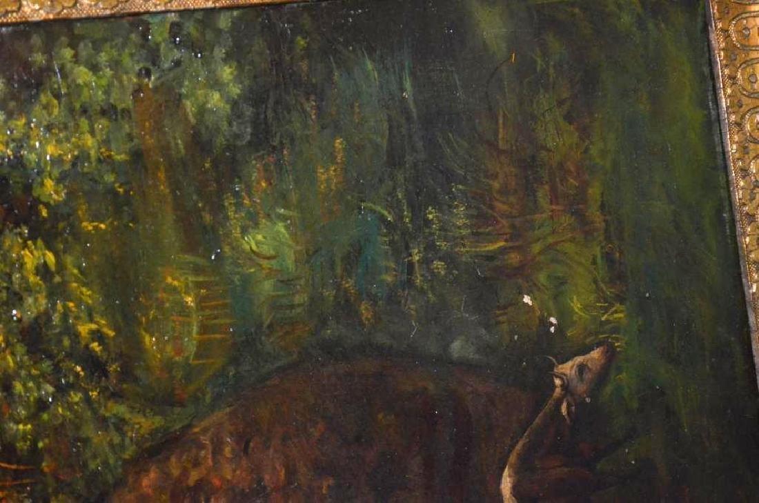 Framed Oil Painting - 5
