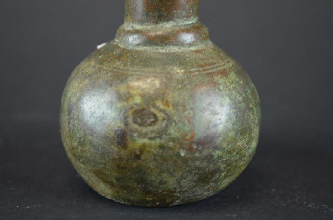 Ancient Bronze Bottle - 3