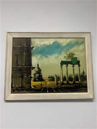 Van Gaard Framed Canvas Painting