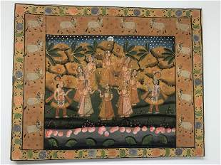 Indian painting of Ceremony