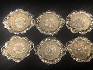 Sterling Silver Mini Plate Set