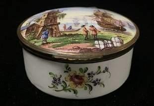 Small White Porcelain Box