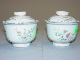 3: Porcelain Wine Cup with Cover