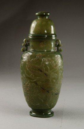 4: Spinach Jade Vase