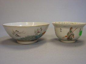 Pair Of Porcelain Bowls