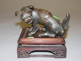 Bronze Lion Incense Burner