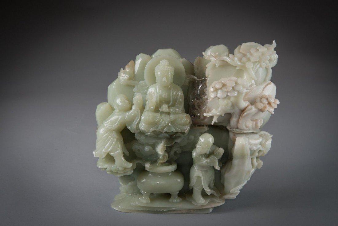 11: Jade Mountain Buddha with Protector