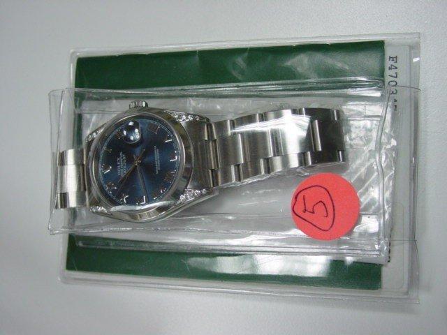 223: Rolex Men's Watch Stainless Steel