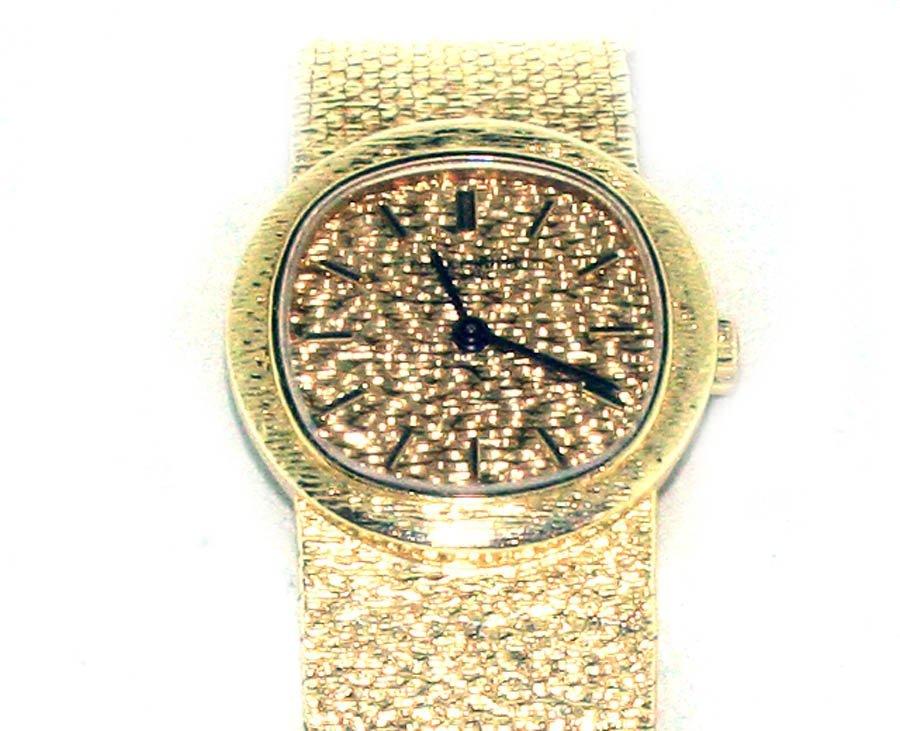 150C: Ladies Patek Philippe  18K YG Watch Circa 1970