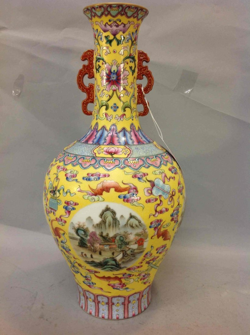 9: Chinese Famille Rose Porcelain Republic