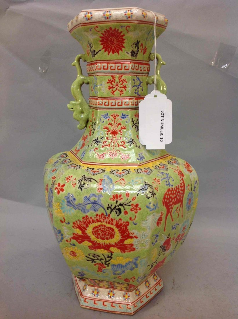 10: Chinese Famille Rose Porcelain Republic