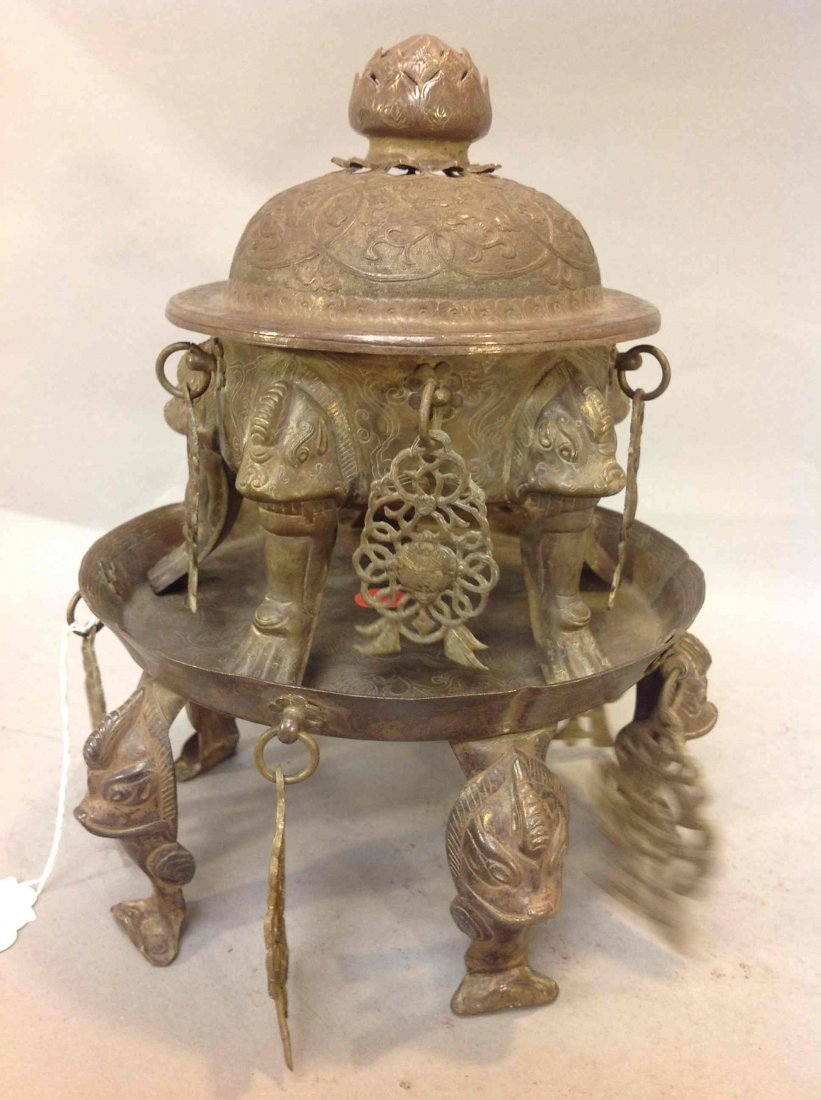 19: Chinese Silver Insence Burner