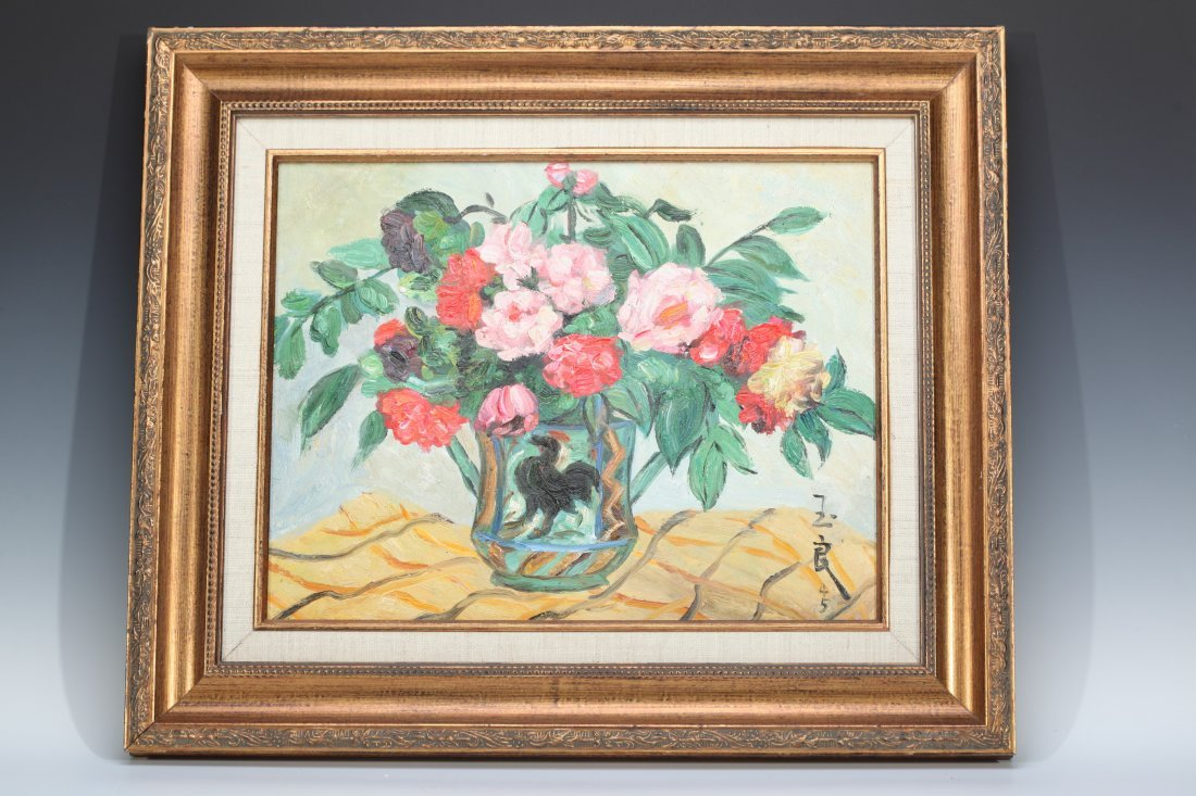 191 Chinese Oil On Canvas Signed Pan Yuliang(1899–1977)