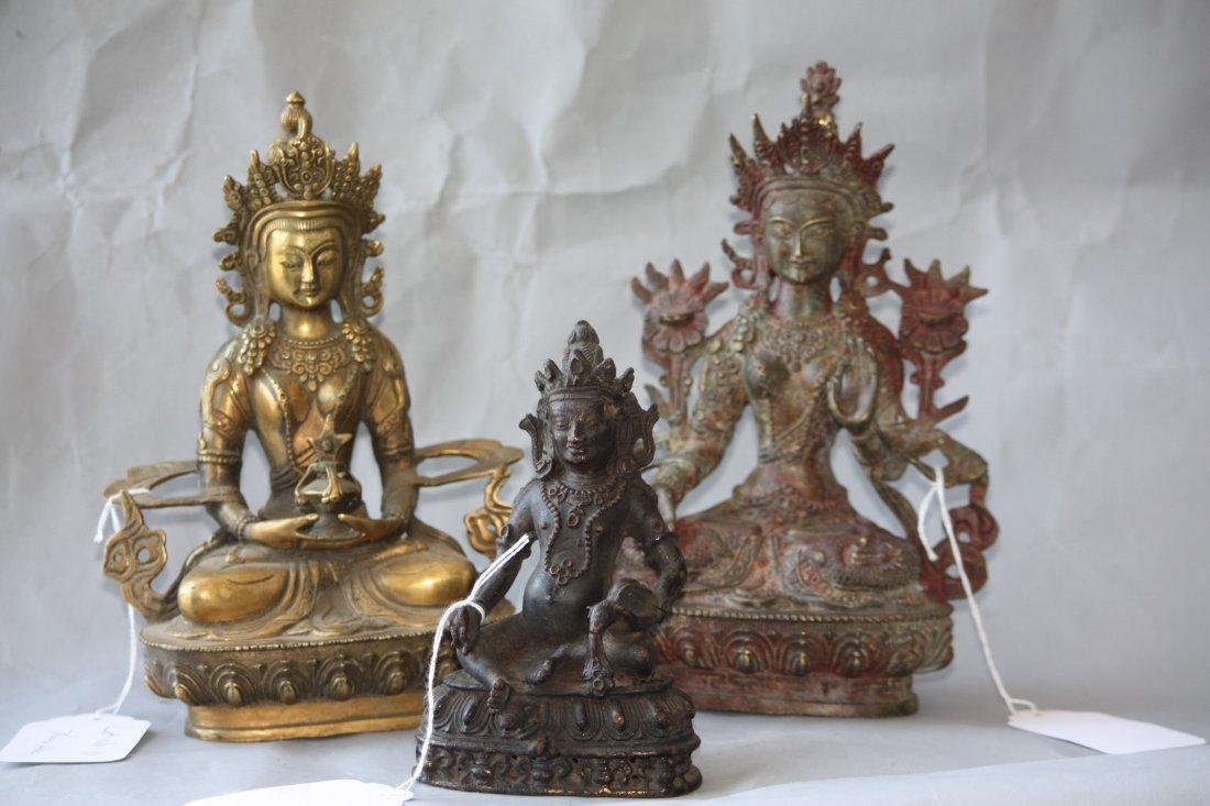 11: Three Bronze Buddha's
