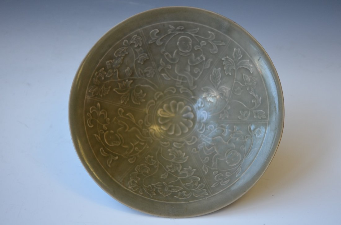 265: Chinese Celadon Northern Song Style Porcelain Bowl