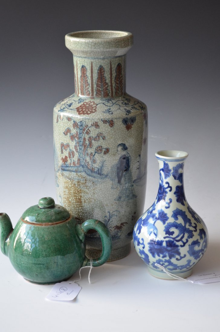 8: Three Various Chinese Porcelains