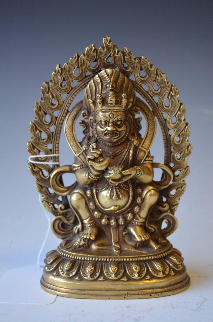 9: A Bronze Buddha