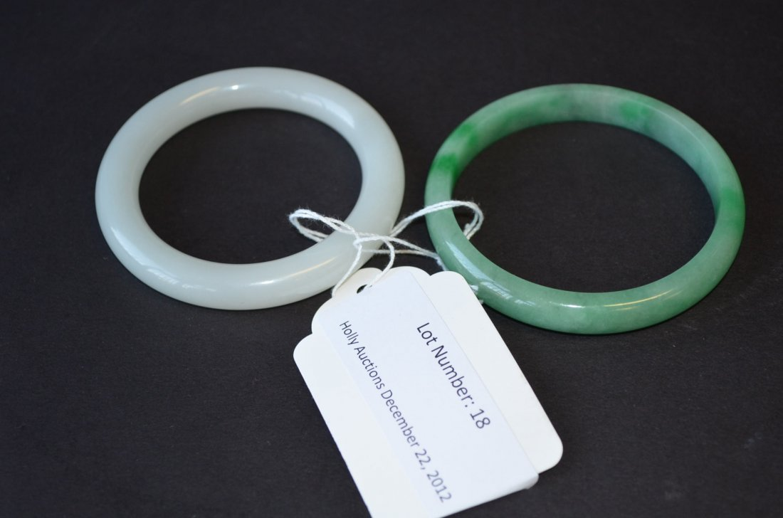 18: Two Chinese Bangles