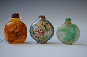 19: Three Chinese Snuff Bottles