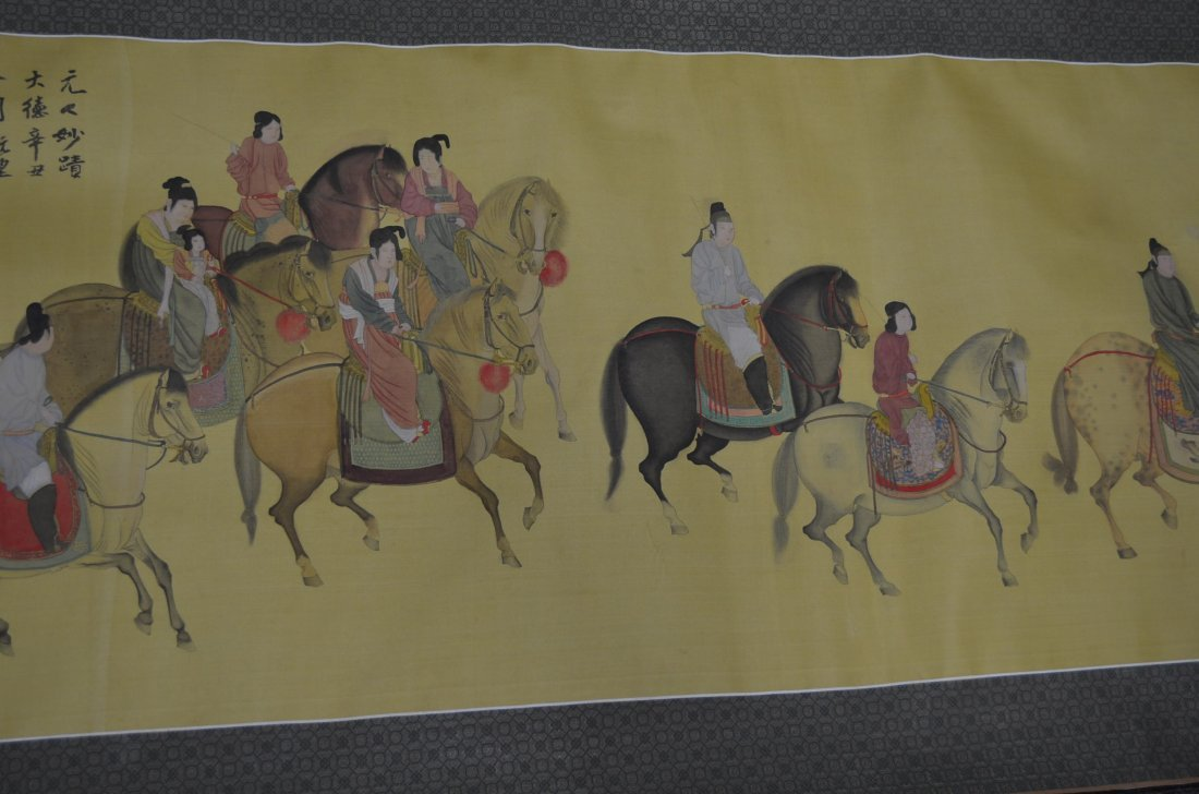 100: Chinese Painting of Noblemen & Scholars