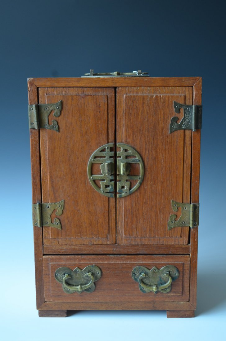Small Chinese Jewelry Cabinet