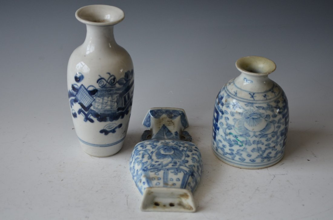 Chinese Porcelain Jars Three Pieces