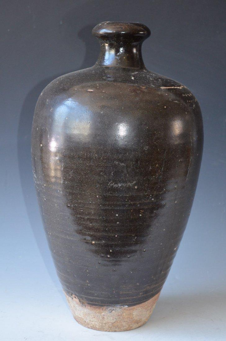 Chinese Brown Glaze Porcelain Vase