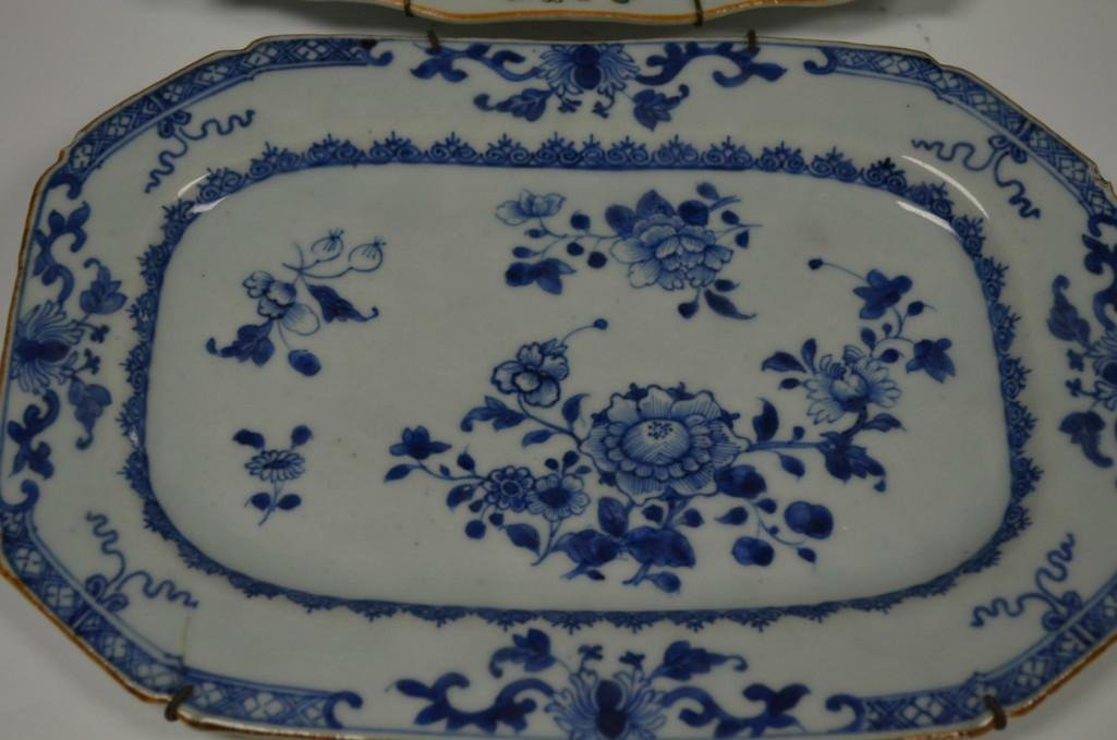 Two Chinese Famille Rose Porcelain Dishes