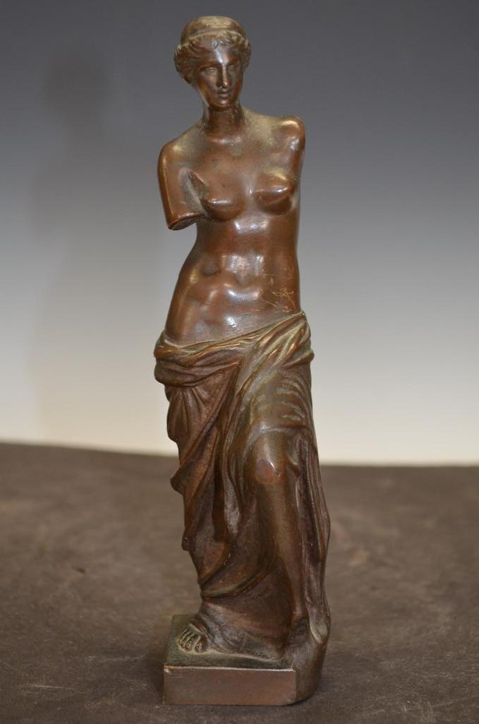 French Bronze Model of Aphrodite
