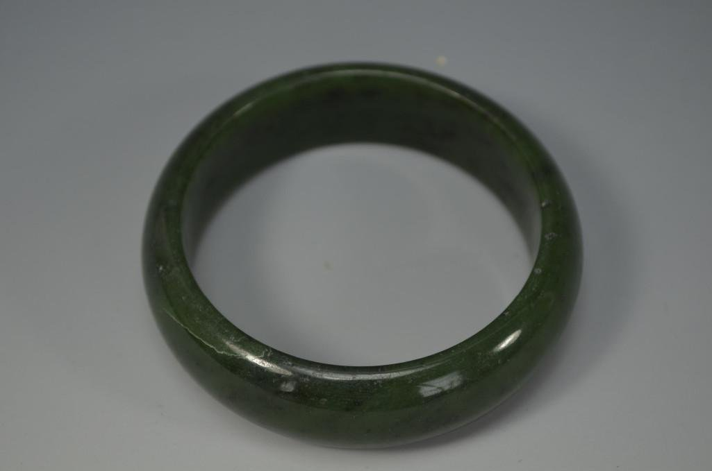 Green Jade Bangle