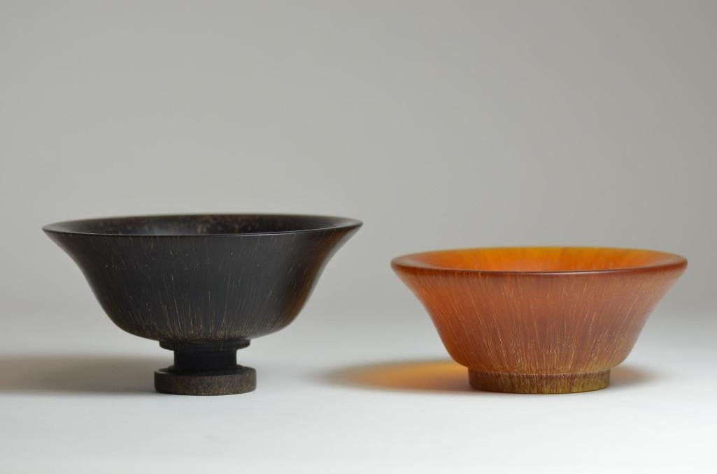 Two Horn Cups