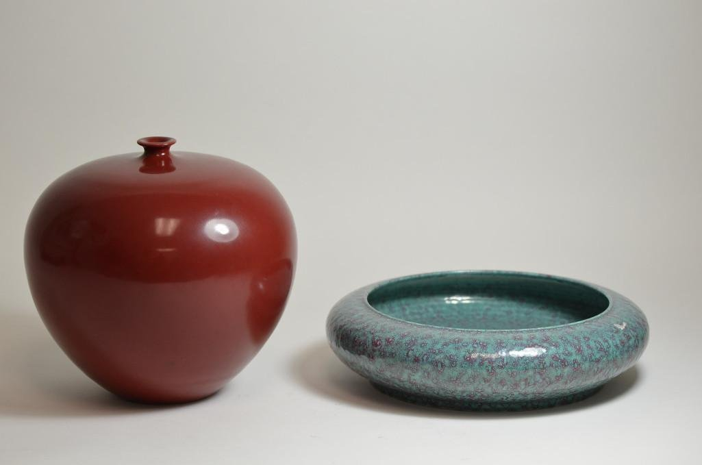 Two Porcelain Itmes