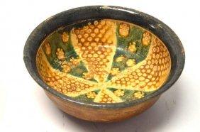 Chinese Sancai Porcelain Bowl